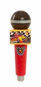 Mickey and the Roadster Racers Musical Light Up Microphone